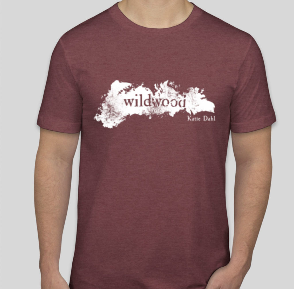 Wildwood T-Shirt in Maroon